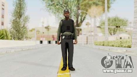 GTA 5 Security Man pour GTA San Andreas deuxième écran
