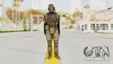 MGSV Phantom Pain Wandering MSF Mosquite pour GTA San Andreas deuxième écran
