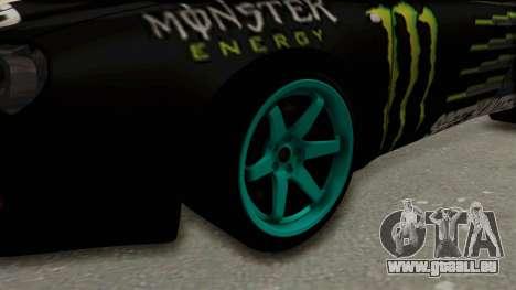 Toyota Celica GT Drift Monster Energy Falken für GTA San Andreas Rückansicht