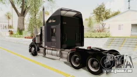 Kenworth T800 Centenario pour GTA San Andreas laissé vue
