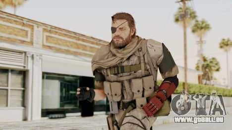 MGSV The Phantom Pain Venom Snake Scarf v3 für GTA San Andreas