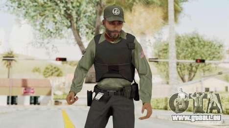 GTA 5 Security Man für GTA San Andreas