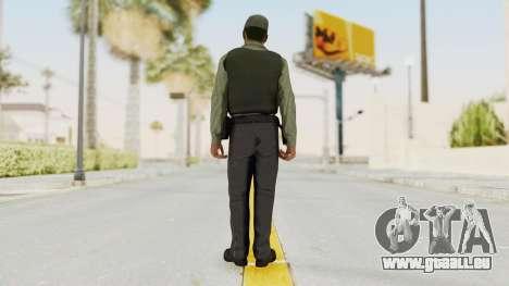 GTA 5 Security Man pour GTA San Andreas troisième écran