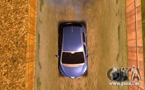 Iranian Peugeot 308 pour GTA San Andreas vue arrière