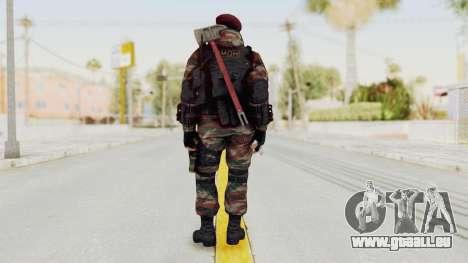 Battery Online Russian Soldier 1 v1 pour GTA San Andreas troisième écran