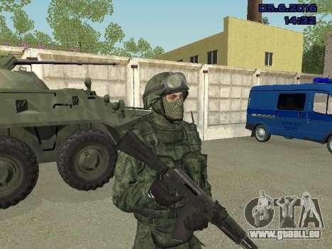 Modern Russian Soldiers pack für GTA San Andreas fünften Screenshot