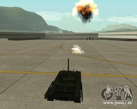 T-14 Armata für GTA San Andreas obere Ansicht