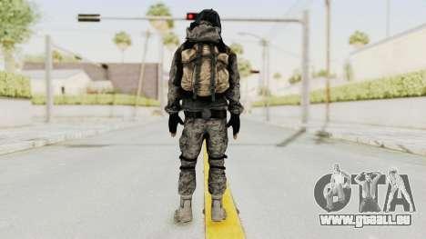 Battlefiled 3 Russian Medic pour GTA San Andreas troisième écran