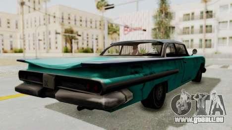 Beater 1962 Voodoo für GTA San Andreas rechten Ansicht