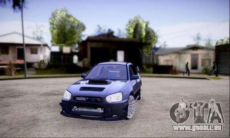 Subaru impreza WRX STi LP400 v2 pour GTA San Andreas
