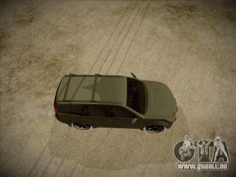 Great Wall Hover H2 2008 pour GTA San Andreas vue de droite
