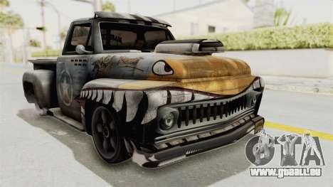 GTA 5 Slamvan Lowrider PJ2 pour GTA San Andreas