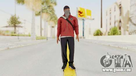 Battlefiled Hardline Professional Gang für GTA San Andreas zweiten Screenshot