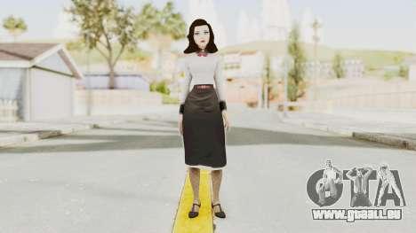 Bioshock Infinite Burial at Sea Elizabeth pour GTA San Andreas deuxième écran