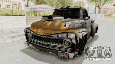 GTA 5 Slamvan Race PJ2 für GTA San Andreas