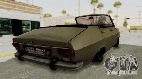 Renault 12 pour GTA San Andreas laissé vue