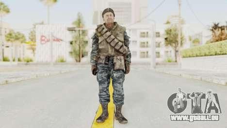 COD BO Russian Spetznas Flak MP v3 pour GTA San Andreas deuxième écran