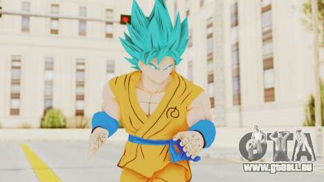 Dragon Ball Xenoverse Goku SJ pour GTA San Andreas