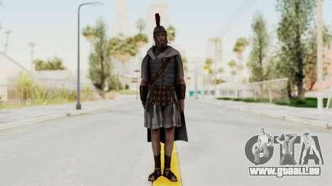 AC Brotherhood - Ezio Auditore Legionare pour GTA San Andreas deuxième écran