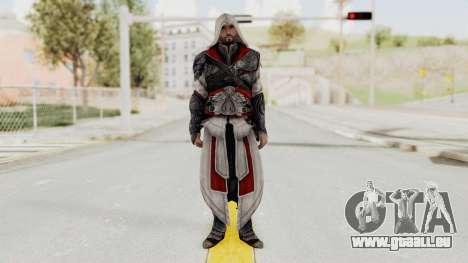 AC Brotherhood - Ezio Auditore Seusenhofer Armor für GTA San Andreas zweiten Screenshot