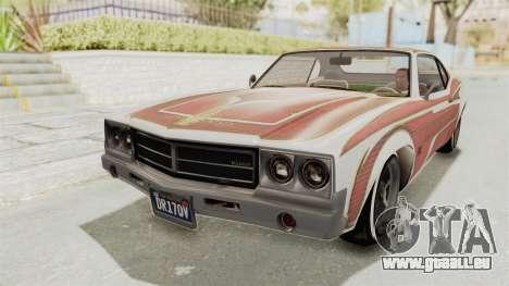 GTA 5 Declasse Sabre GT2 A IVF pour GTA San Andreas