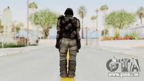 Helghan Assault Trooper pour GTA San Andreas troisième écran
