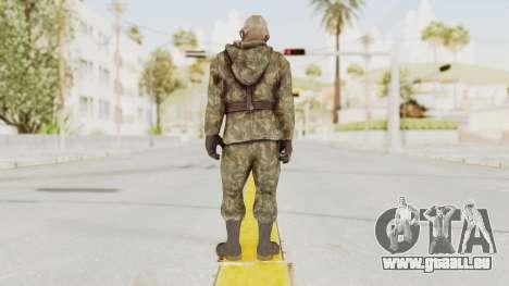COD Black Ops Russian Spetznaz v3 pour GTA San Andreas troisième écran