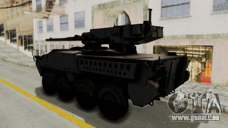 M1128 Mobile Gun System für GTA San Andreas rechten Ansicht
