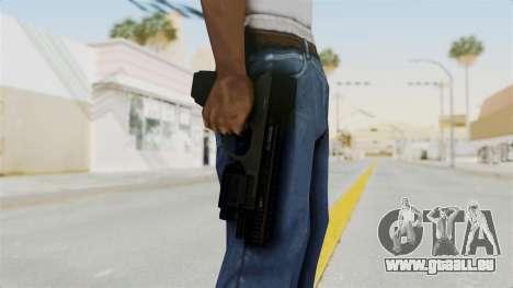Killzone - M4 Semi-Automatic Pistol No Attach pour GTA San Andreas troisième écran