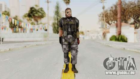 MGSV The Phantom Pain Venom Snake Square für GTA San Andreas zweiten Screenshot