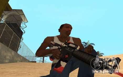 M4 Cyrex pour GTA San Andreas troisième écran