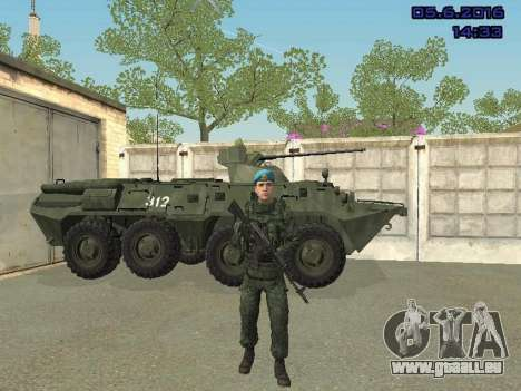 Modern Russian Soldiers pack pour GTA San Andreas onzième écran