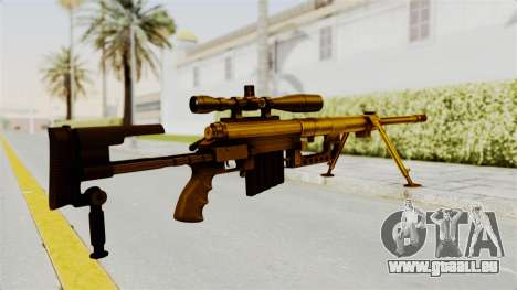 Cheytac M200 Intervention Gold für GTA San Andreas zweiten Screenshot