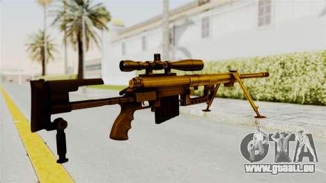 Cheytac M200 Intervention Gold für GTA San Andreas zweiten Screenshot