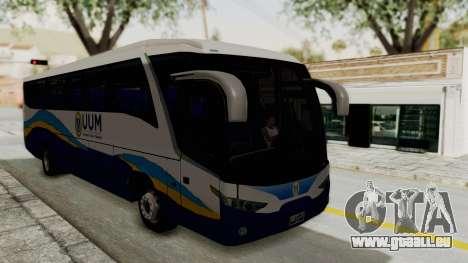 Marcopolo UUM Bus pour GTA San Andreas vue de droite