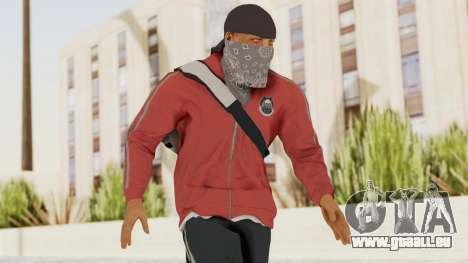 Battlefiled Hardline Professional Gang für GTA San Andreas