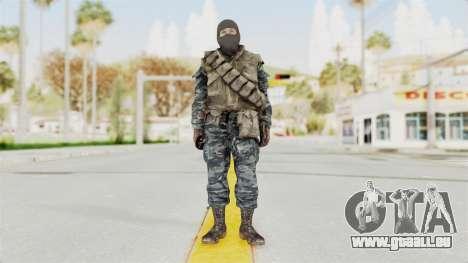 COD BO Russian Spetznas Flak MP v1 pour GTA San Andreas deuxième écran
