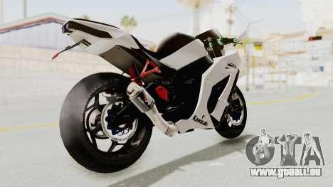 Kawasaki Ninja ZX-10R Modification pour GTA San Andreas laissé vue