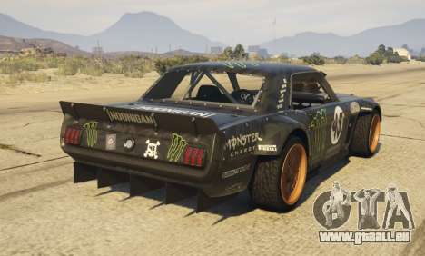 Ford Mustang 1965 Hoonicorn 1.2 [Replace] pour GTA 5