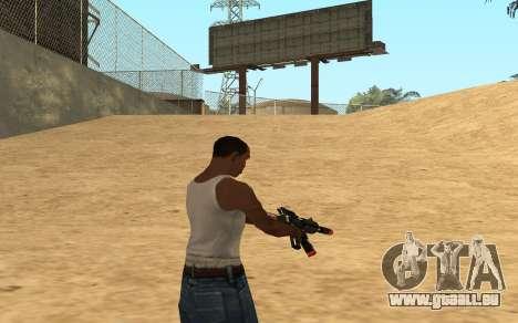 M4 Cyrex pour GTA San Andreas sixième écran