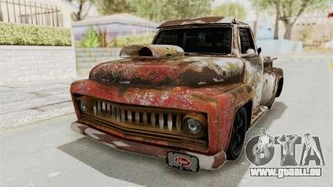 GTA 5 Slamvan Race PJ2 für GTA San Andreas Rückansicht