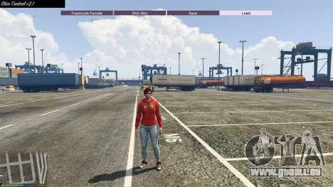 GTA 5 Skin Control 2.1 quatrième capture d'écran