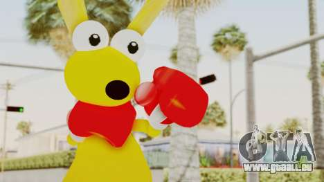 Kao the Kangaroo Gloves pour GTA San Andreas