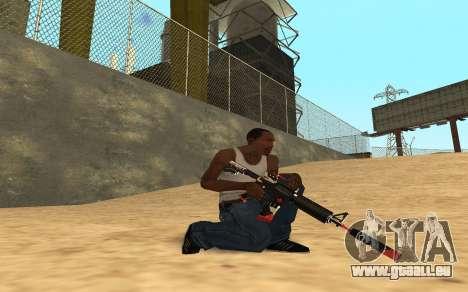 M4 Cyrex pour GTA San Andreas huitième écran