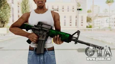 HD M4 v4 pour GTA San Andreas