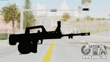 QBB-95 pour GTA San Andreas deuxième écran