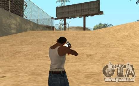 M4 Cyrex pour GTA San Andreas cinquième écran