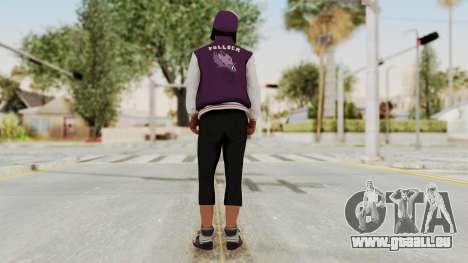 GTA 5 Ballas 3 pour GTA San Andreas troisième écran