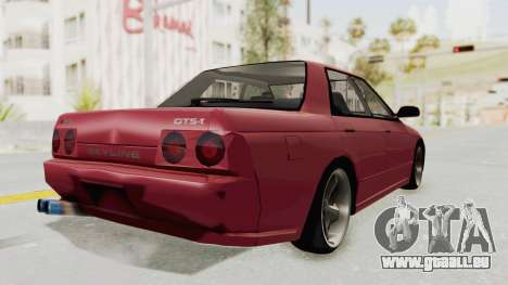 Nissan Skyline NAR32 pour GTA San Andreas laissé vue