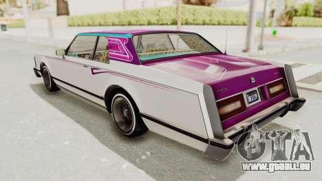 GTA 5 Dundreary Virgo Classic Custom v1 pour GTA San Andreas moteur